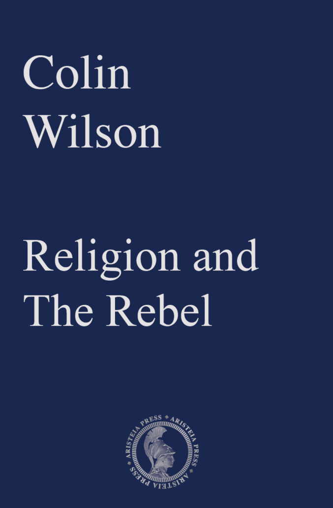 Religion and The Rebel: Colin Wilson Cover